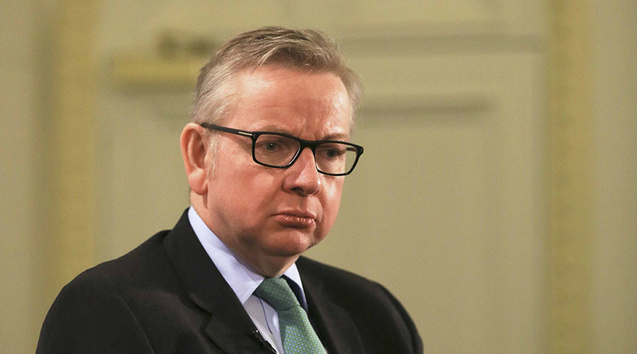 Britain's Justice Secretary Michael Gove. © Paul Hackett