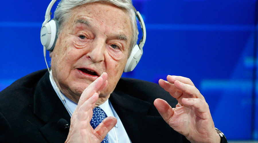 George Soros pumping millions into Democrats, alarmed by Trump's rise