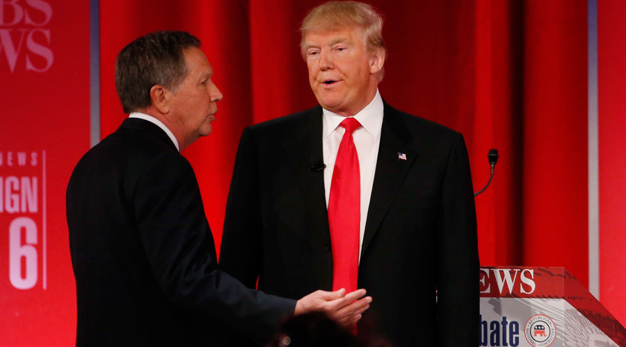 Last man on Fox: GOP debate cancelled after Trump, Kasich pull out