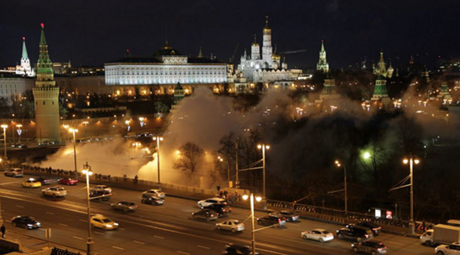 Kremlin burning? Not quite: Pipe leak creates stir in Moscow (PHOTOS, VIDEO)