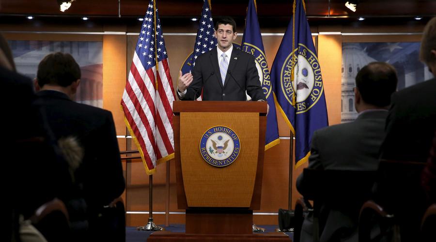 U.S. House Speaker Paul Ryan. © Jonathan Ernst