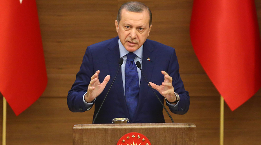 'Democracy, freedom and the rule of law' have no value, Erdogan says