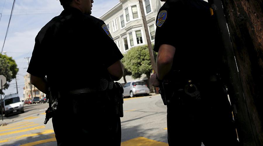 Hand gun? Man points fingers at LA cops, gets shot dead