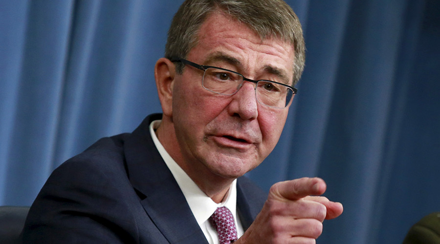 U.S. Defense Secretary Ash Carter © Yuri Gripas