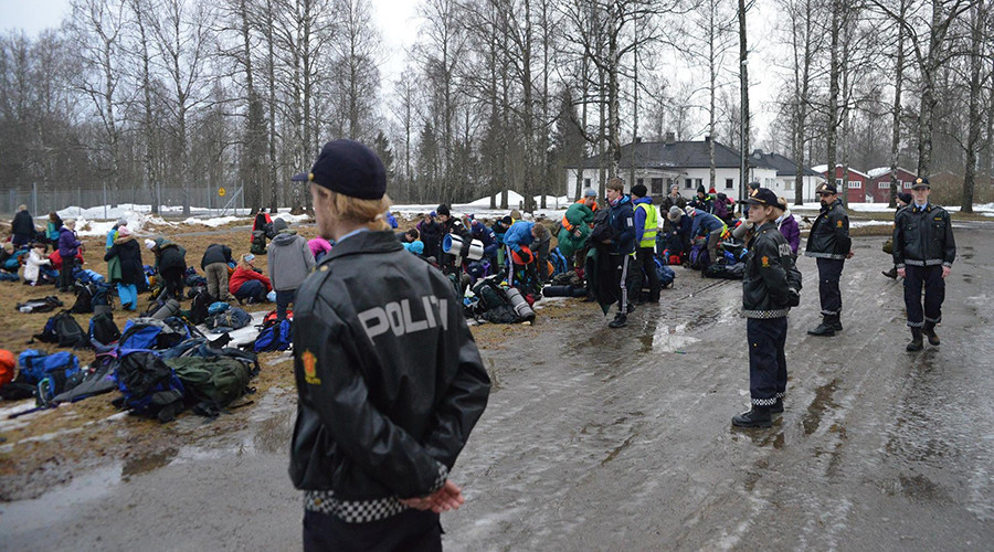 'Horribly tough': Norwegian teens 'play refugee' to understand plight of asylum seekers