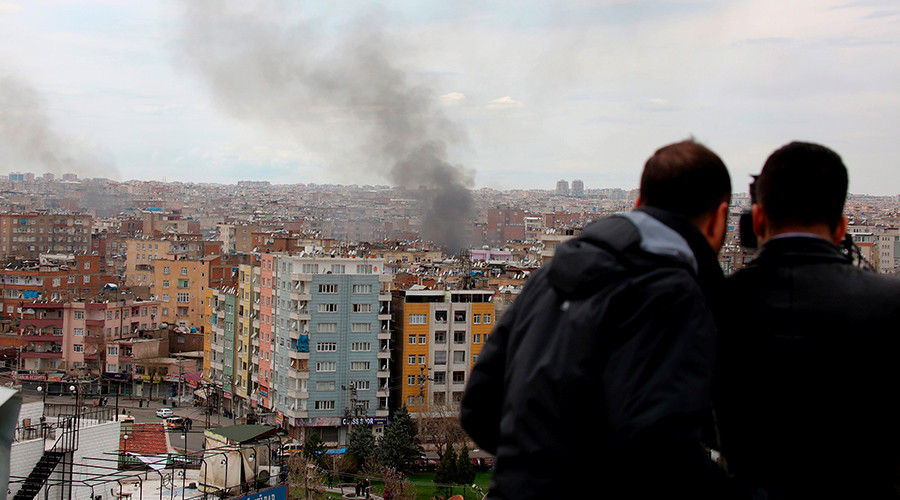 5 dramatic videos from Turkey's operation against Kurds