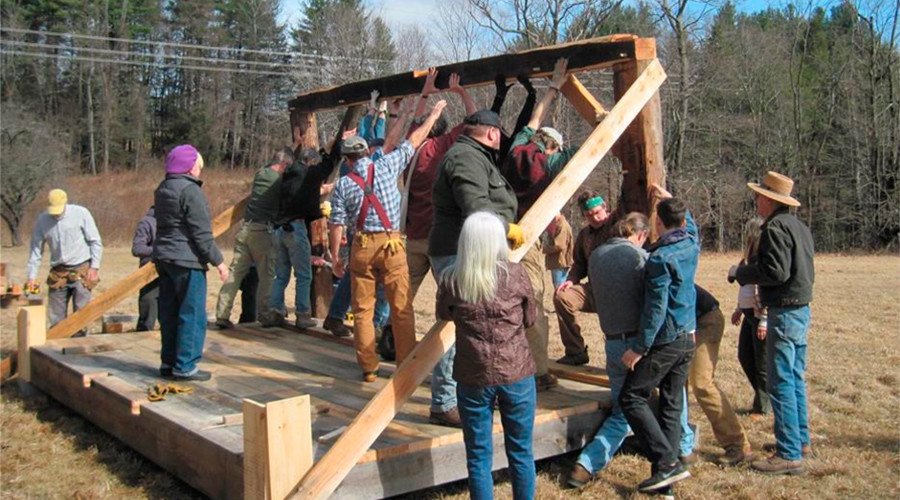 Walden pond cabin built for Thoreau-inspired fracking pipeline protest