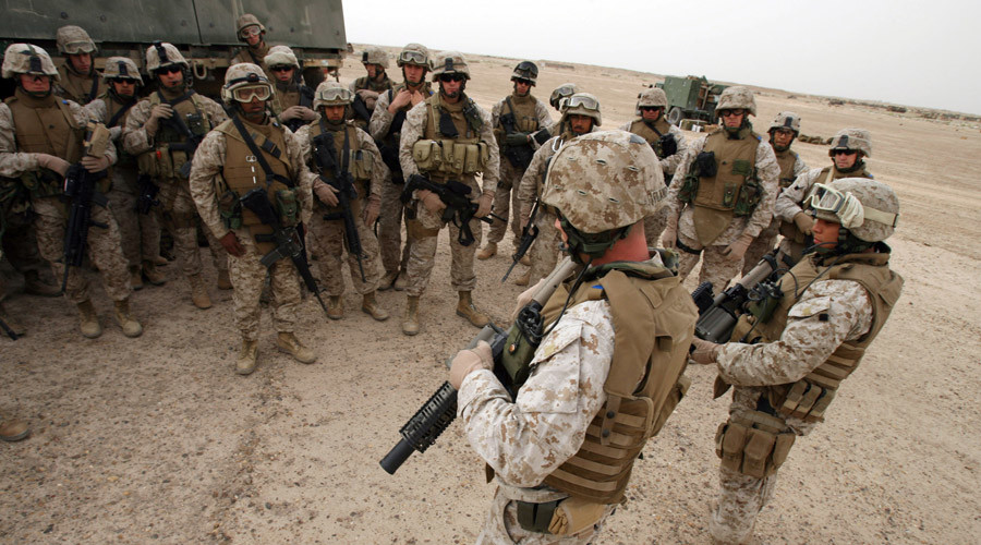 U.S. Marines, Iraq © Gunnery Sgt. Mark Oliva