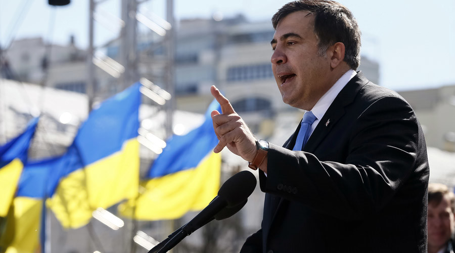 Former Georgian president Mikhail Saakashvili © Gleb Garanich