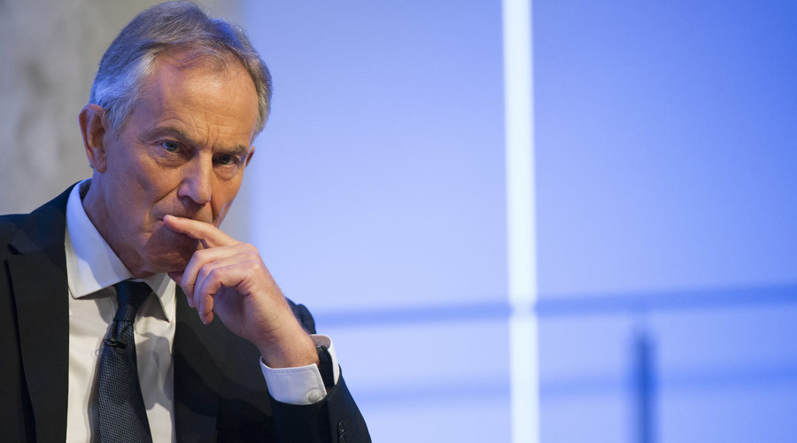 Former British Prime Minister Tony Blair © Brendan McDermid