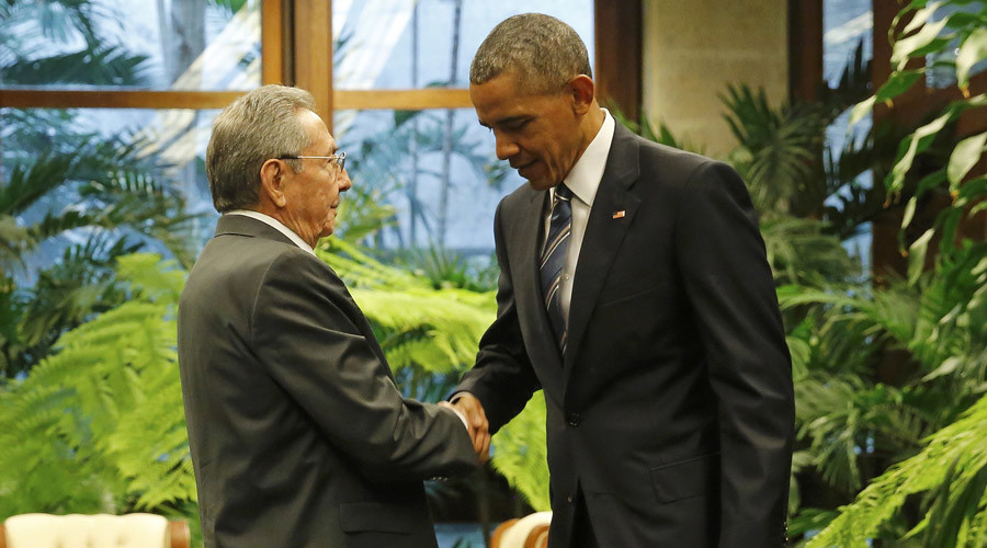 Obama's Cuba visit: Goodbye to 'Viva la Revolución!'