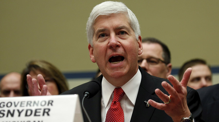 Michigan governor announces Flint water crisis action plan