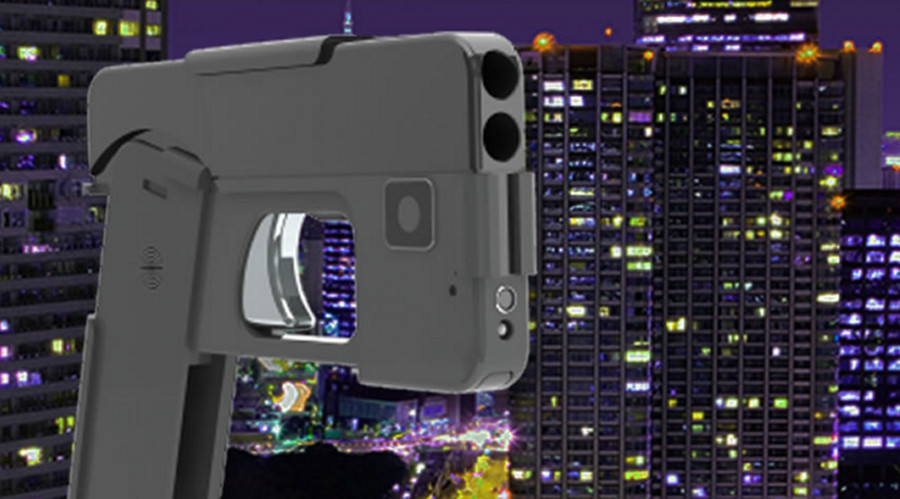 'Ready to fire' cellphone-shaped double-barrel handgun could be released