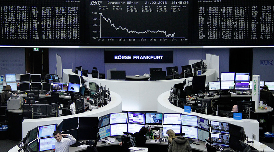 Stock markets down after Brussels blasts