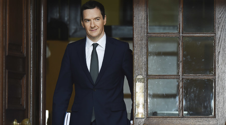 Britain's Chancellor of the Exchequer George Osborne © Stringer
