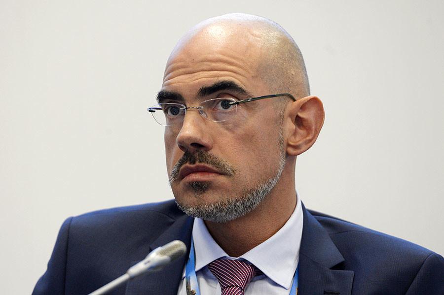 Zlatko Zigic, Moscow Chief of Mission, International Organization for Migration. ©Alexei Danichev