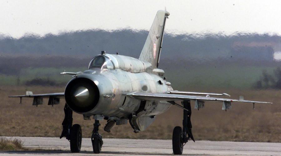 A Croatian MiG-21 ©