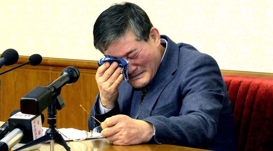 Korean-American man confesses to 'unpardonable espionage' in North Korea