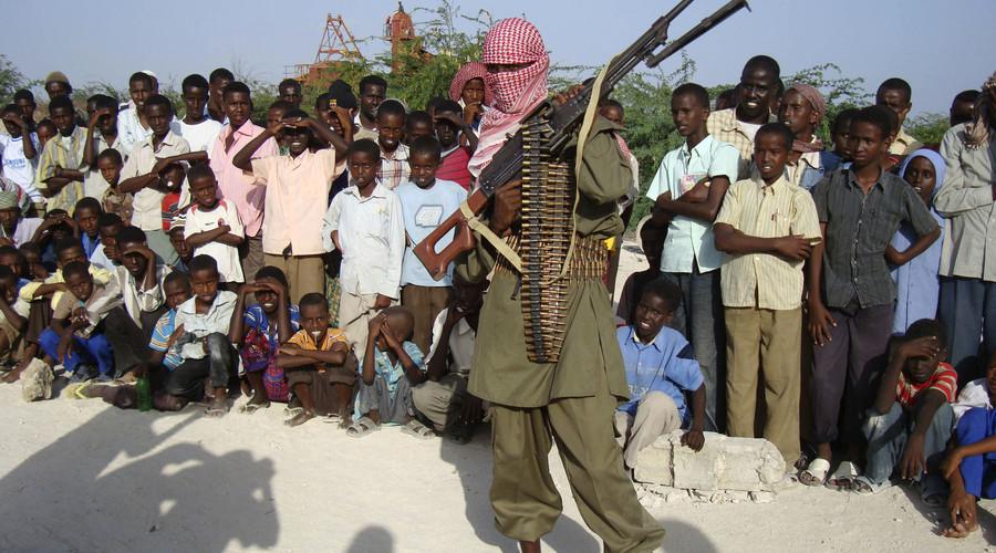 An Islamist fighter from Al-Shabaab Mujaahidin. © Feisal Omar