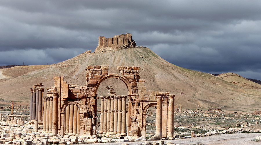 ARCHIVE Partial view of the ancient oasis city of Palmyra, 215 kilometres northeast of Damascus. Syria's ancient city of Palmyra is an archeological treasure that was declared a UNESCO world heritage site in 1980. © Joseph Eid