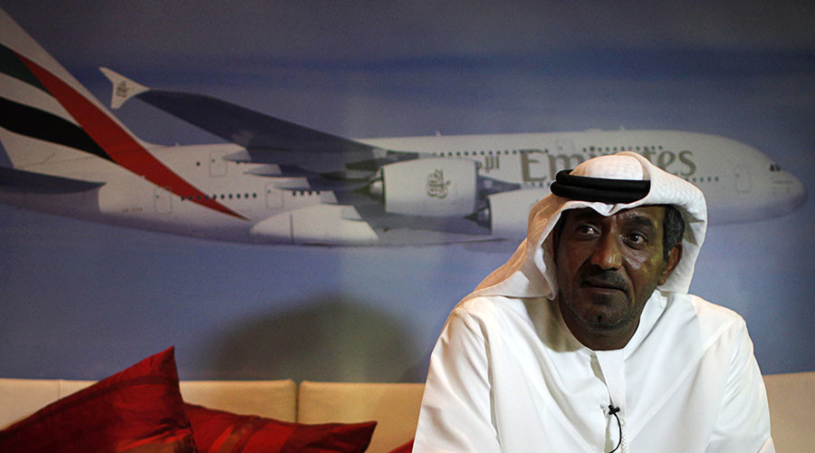 Sheikh Ahmed Bin Saeed Al-Maktoum, Chairman and Chief Executive of Emirates Airlines. © Ahmed Jadallah
