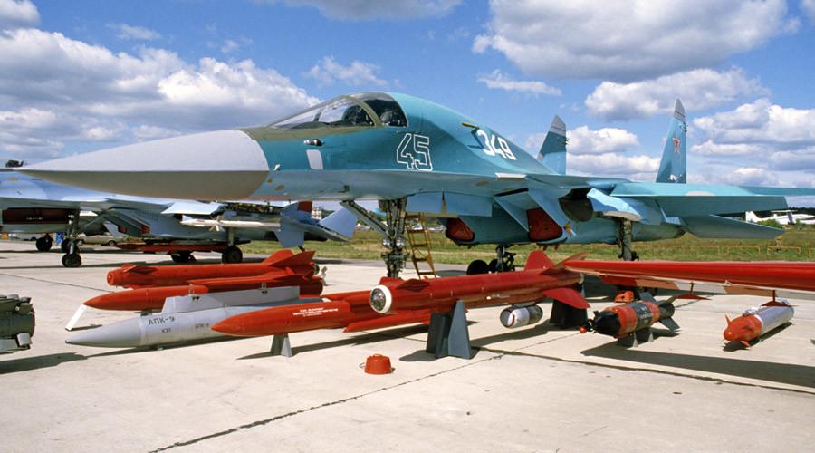 Two-seat fighter-bomber Su-32 © Sergey Subbotin