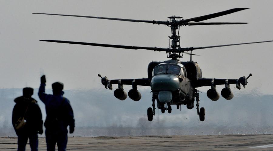 "Ka-52 ""Alligator"" © Vitaliy Ankov"