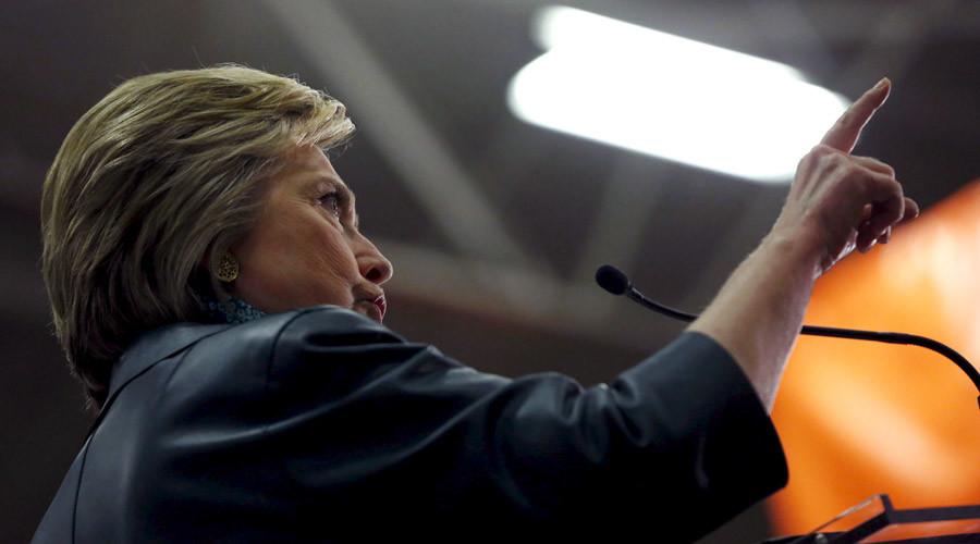 Democratic U.S. presidential candidate Hillary Clinton © Mario Anzuoni