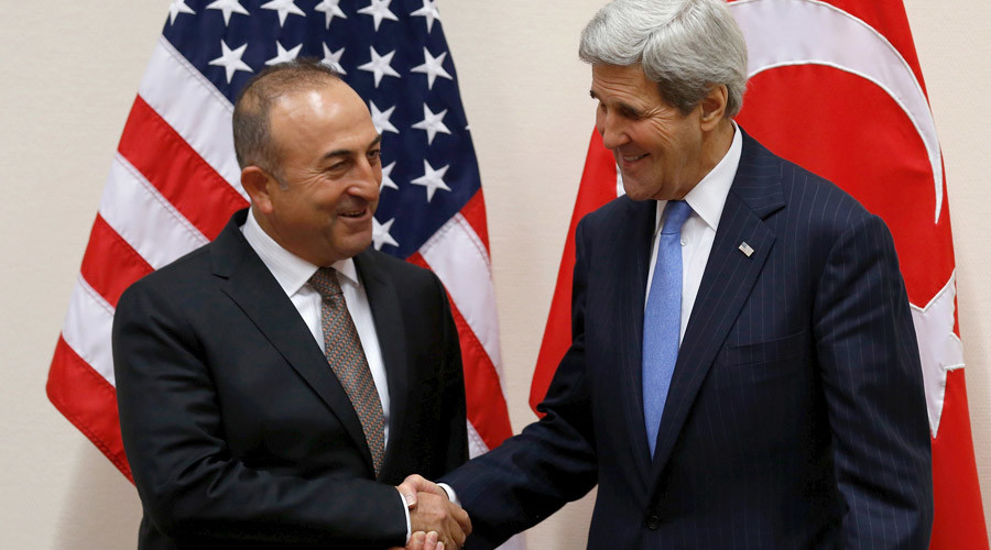 Turkey, US 'pushing very hard' to reach Cyprus peace deal this year