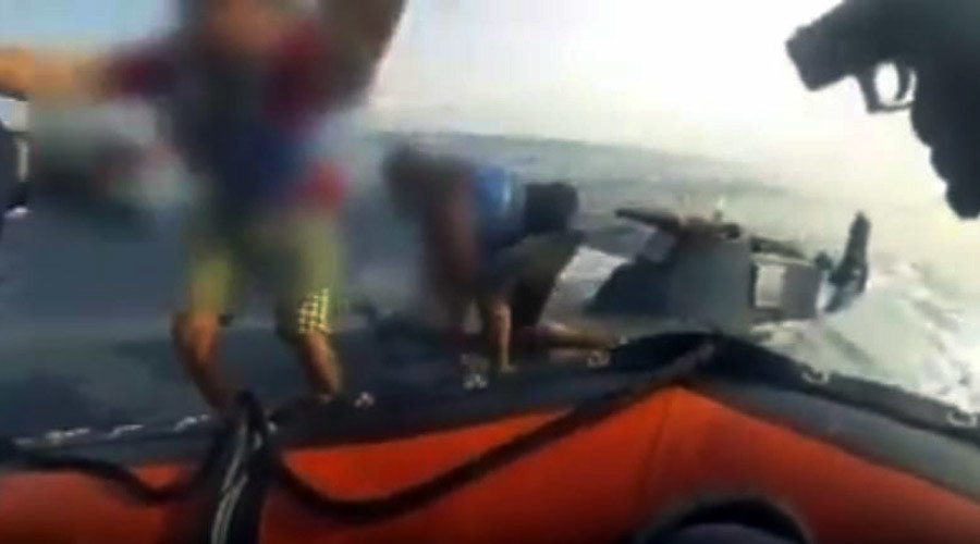 Makeshift drug-running submarine raided & sunk in US Coast Guard bust (VIDEO)