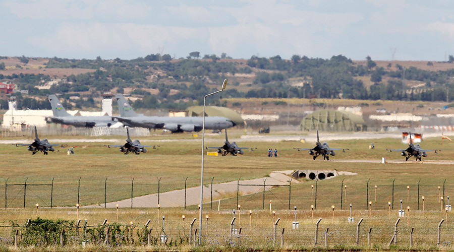 Incirlik airbase in the southern Turkish city of Adana © Umit Bektas