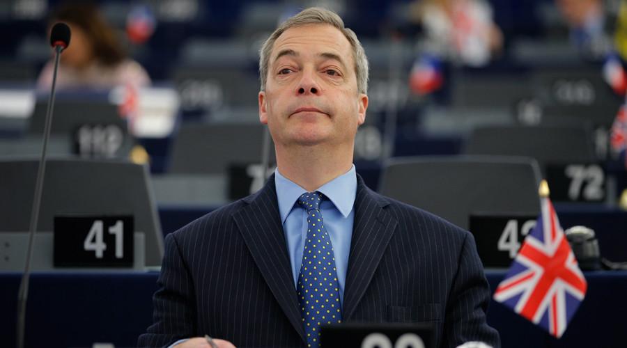 Nigel Farage, leader of the United Kingdom Independence Party (UKIP) © Vincent Kessler