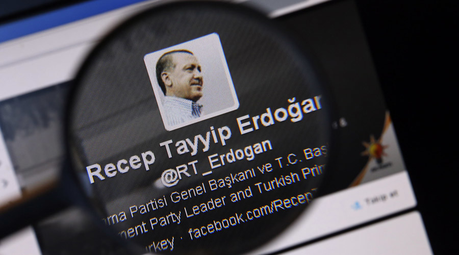 Not feeling the love? Turkish media accuse Twitter of censoring top trending Erdogan hashtag