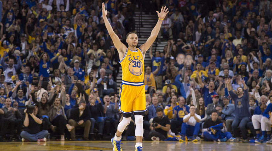 Golden State Warriors guard Stephen Curry (30) © USA Today Sports