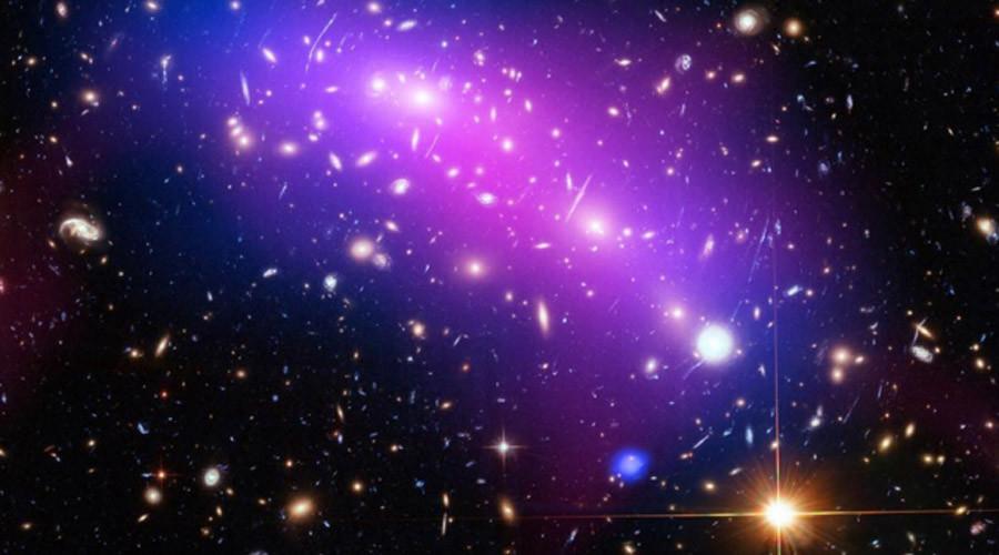 Colliding galaxies form stunning 'cosmic kaleidoscope' in ESA image (PHOTO)