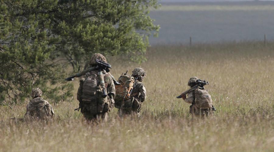British soldiers © Peter Nicholls