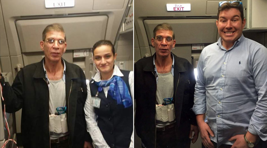 Fun & games: EgyptAir hijack video shows hostages joking around (VIDEO)