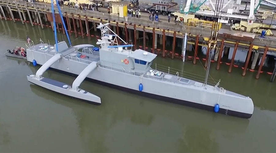 US prepares to hunt enemy submarines with giant sea drone (VIDEO)