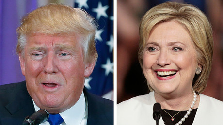 A combination photo shows Republican U.S. presidential candidate Donald Trump (L) in Palm Beach, Florida and Democratic U.S. presidential candidate Hillary Clinton (R) in Miami, Florida © Str / Reuters