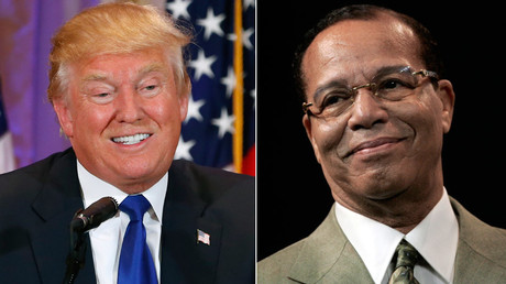 Farrakhan previously said Trump would 'take America into the abyss of hell.' © Scott Audette, Rebecca Cook