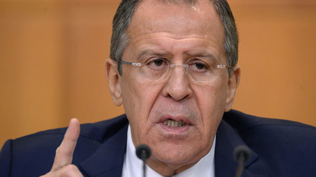 Russian Foreign Minister Sergey Lavrov. © Grigoriy Sisoev