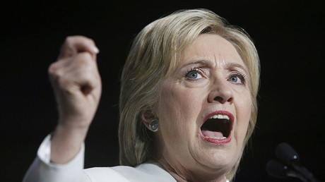 U.S. presidential candidate Hillary Clinton. ©Jonathan Ernst
