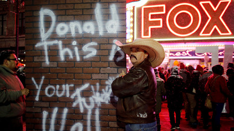Protesters against Republican U.S. presidential candidate Donald Trump © Carlos Barria