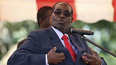 Zimbabwe's President Robert Mugabe. ©Philimon Bulawayo