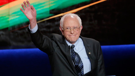 2016Democratic U.S. presidential candidate and U.S. Senator Bernie Sanders © Jim Young