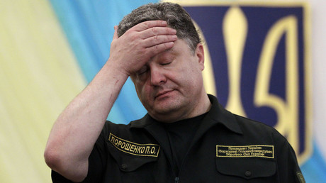 Ukrainian President Petro Poroshenko. © Vasily Fedosenko