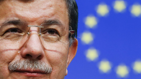 Turkish Prime Minister Ahmet Davutoglu © Yves Herman
