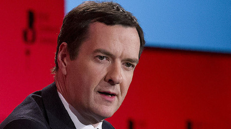 British Chancellor of the Exchequer George Osborne. © Justin Tallis