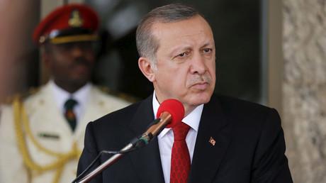 Turkish President Tayyip Erdogan © Afolabi Sotunde