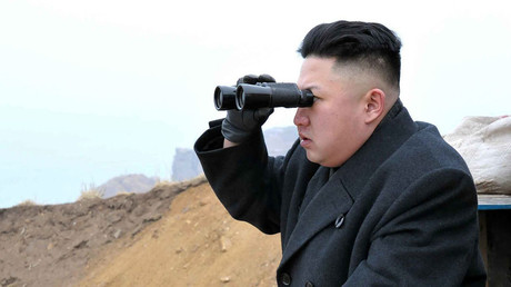 North Korean leader Kim Jong-Un. © Reuters